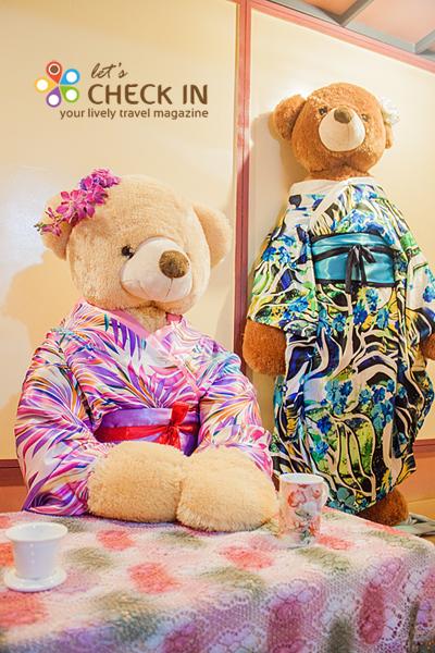 พี่หมีในชุดกิโมโน