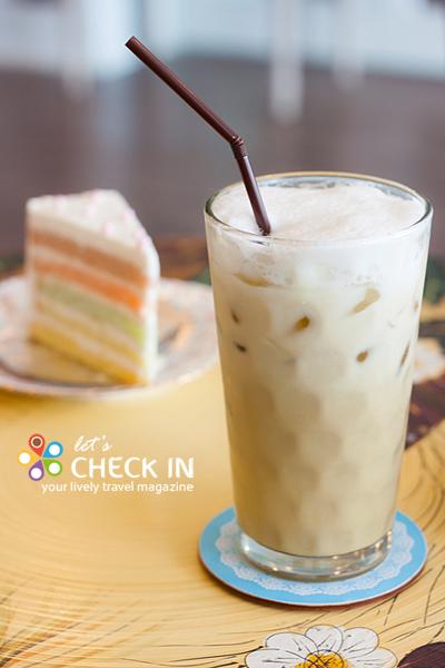 Milk Green Tea ชงจากใบชาเขียวออร์แกนิค