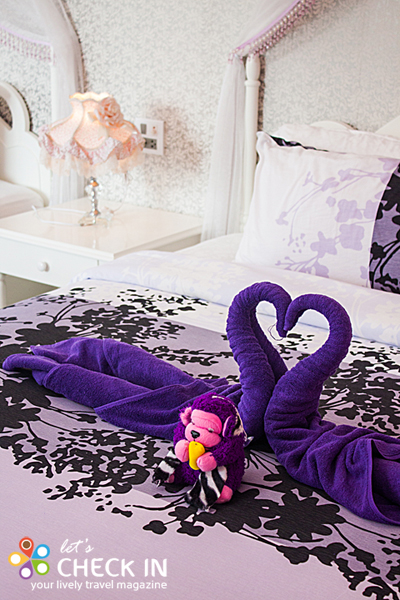 Princess ตุ๊กตากอริลล่าน้อยนี้เป็น welcome gift ที่มีให้ในทุกห้องพัก