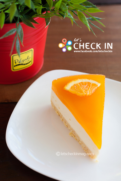 Orange Cheese Pie