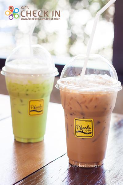 ดับกระหายคลายร้อน คาราเมลลาเต้ กับ ชาเขียวเย็น