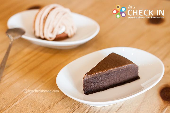 ช็อคโกแลตชีสเค้ก เข้มดาร์คช็อคโกแลต เต็มรสชีส