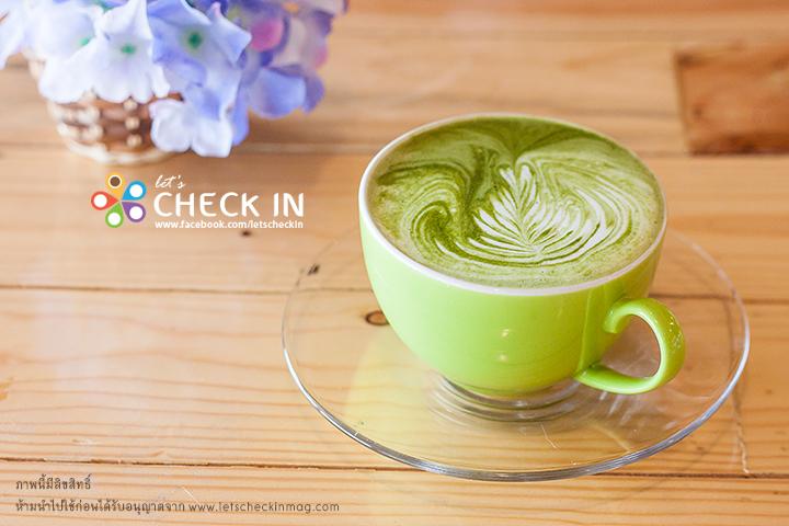 Matcha Green Tea Latte ชาเขียวมัทฉะร้อนรสนุ่ม