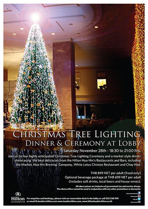 Tree Lighting @ Hilton Hua Hin1
