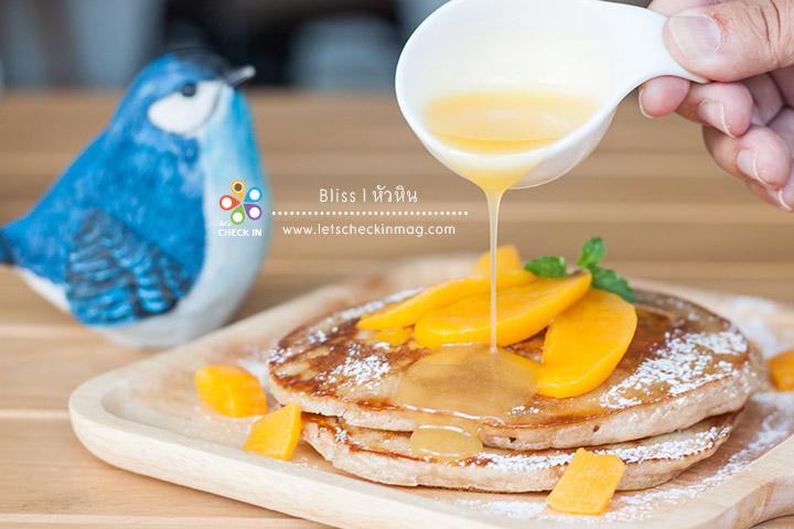 Peach Cinnamon Pancakes