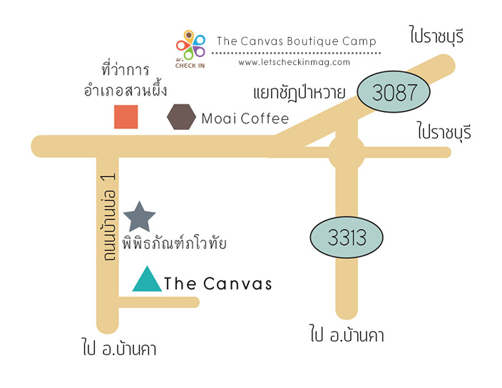 canvas map