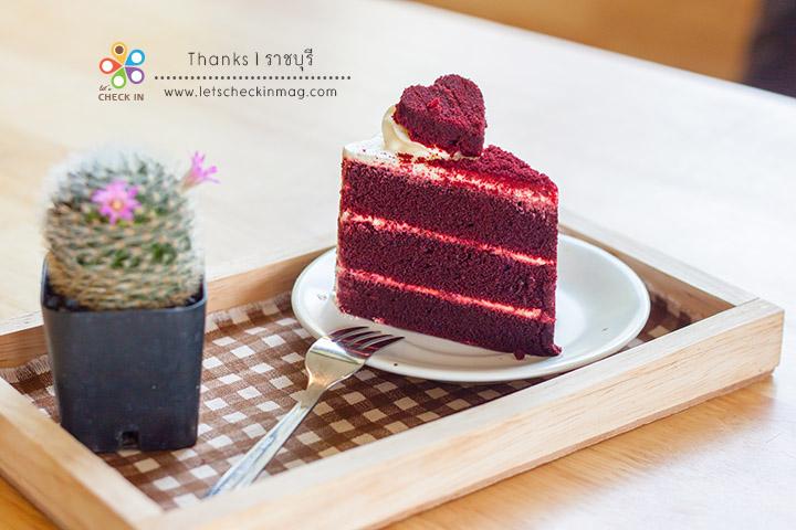 เค้ก Red Velvet