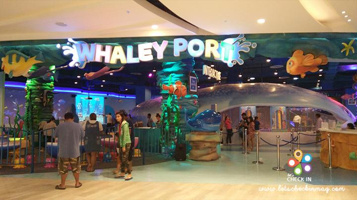 ปิดท้ายที่ชั้น 3 ชั้นนี้มี Whaley Port ที่เขาจั่วว่าเป็น The First Interactive Underwater World Theme Park ในประเทศไทย น่าจะถูกใจเด็กๆ ไม่ใช่น้อย นอกจากส่วนของเด็กๆ แล้ว ชั้นนี้ยังมีช็อปอุปกรณ์ IT & Technology ด้วย