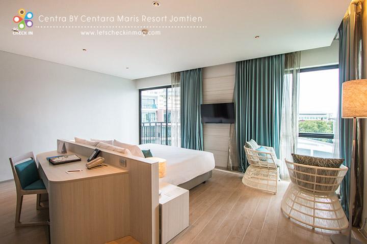 Centra Premium ห้องประเภทนี้มีแค่ 10 ห้อง เป็นห้องมุมวิวดีเชียวล่ะ
