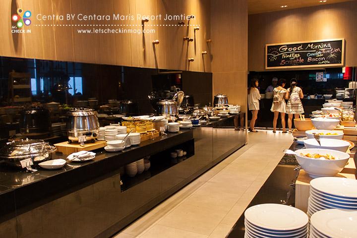 Breakfast @ Mix Bistro ไลน์นี้เป็นอาหารไทย