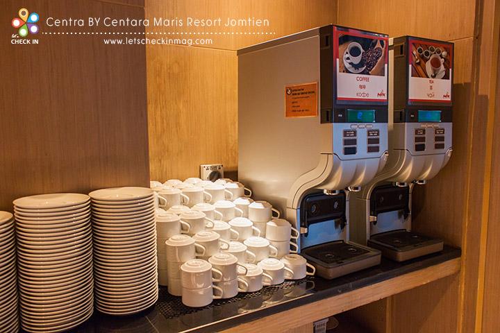 Breakfast @ Mix Bistro ชา กาแฟ บริการตัวเองได้เลย