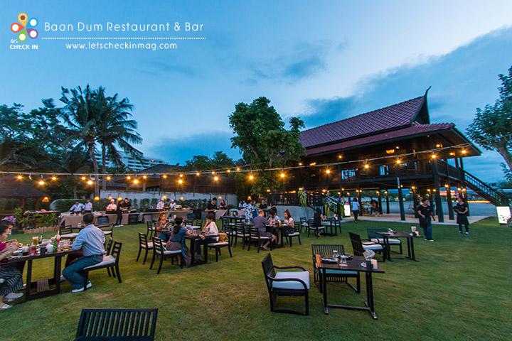Baan Dum Restaurant & Bar (บ้านดำ เรสเตอรองท์ แอนด์ บาร์)