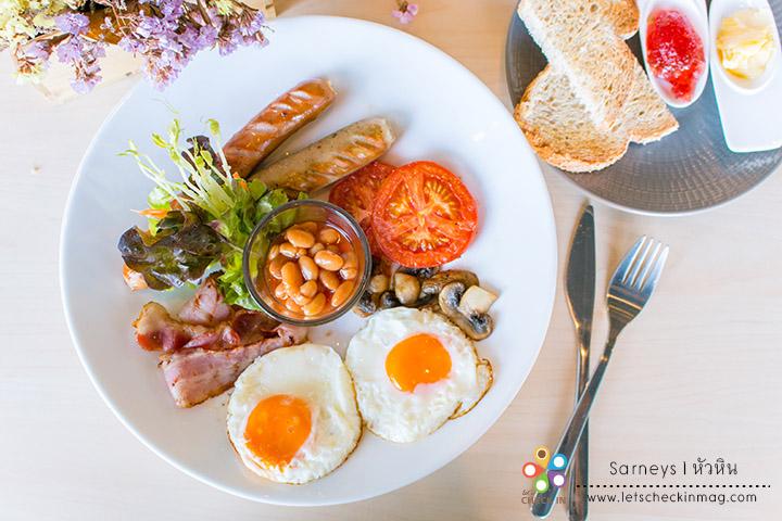 Full English Breakfast เซ็ตอาหารเช้าสุดคุ้ม