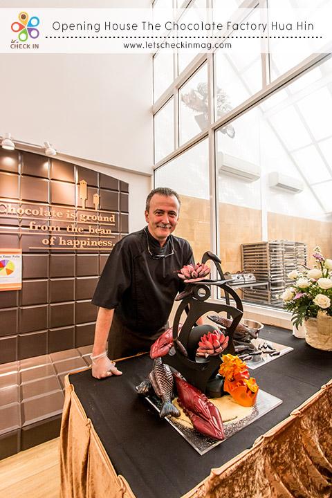 Chef Eric กับผลงานของเขา