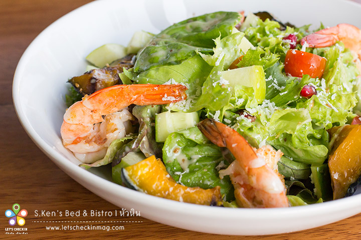 S.Ken's Signature Salad with Homemade Dressing