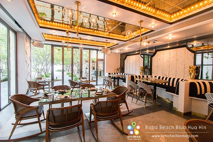 มื้อเช้าทานกันที่ Baba Beach Restaurant นี่แหละ