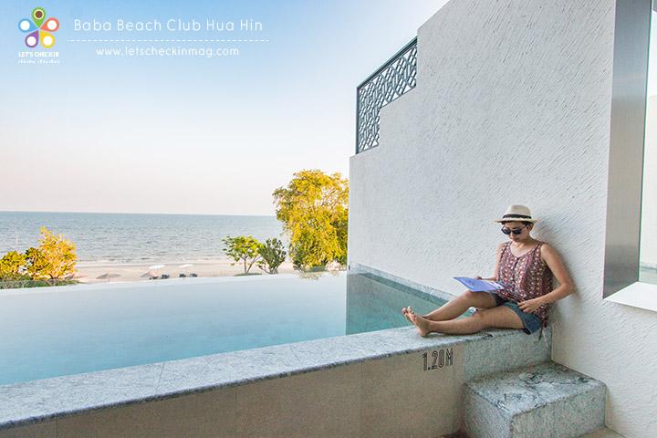 Pool Suite @ Baba Beach Club Hua Hin