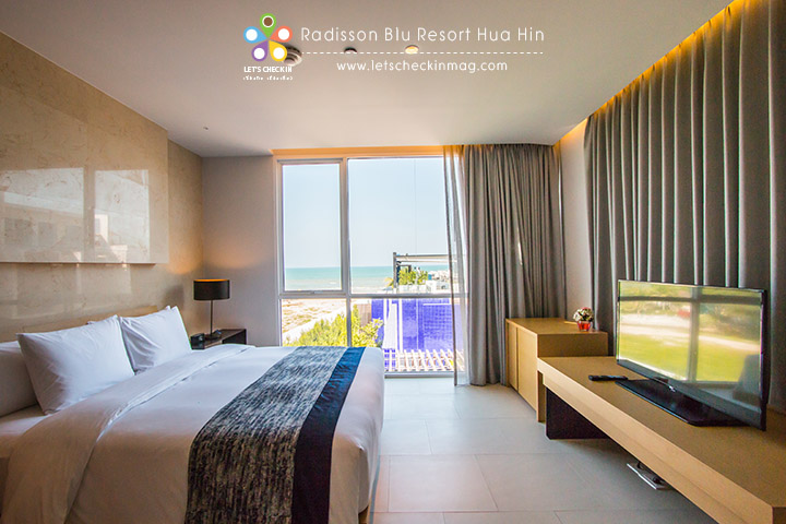 One Bedroom Seaview Suite @ Radisson Blu Resort Hua Hin