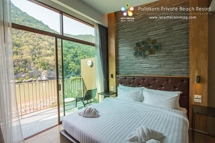 Suite Room ห้องนี้จะแบ่งเป็นโซนห้องนอนกับห้องนั่งเล่น