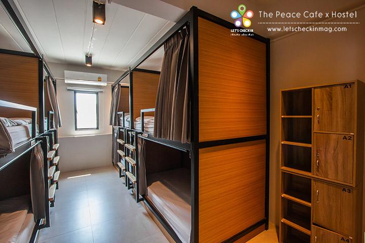 Mixed Dorm 8 เตียง