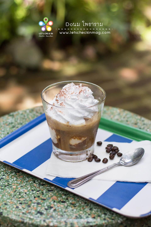 อาฟโฟกาโต้ กาแฟหอมๆ กับไอศครีม เพิ่มความละมุนด้วยวิปครีม
