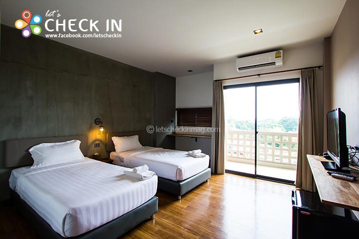 โรงแรมสวยกลางเมืองราชบุรี : SPACE 59