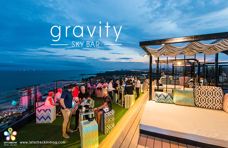 Rooftop Bar แห่งใหม่วิวทะเลชะอำ – Gravity Sky Bar
