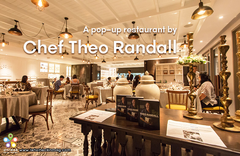 A pop-up restaurant by Chef Theo Randall