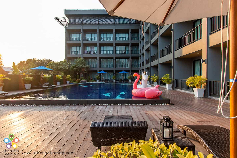 โรงแรมชะอำ เหมาะรับสัมมนา มีสระว่ายน้ำ