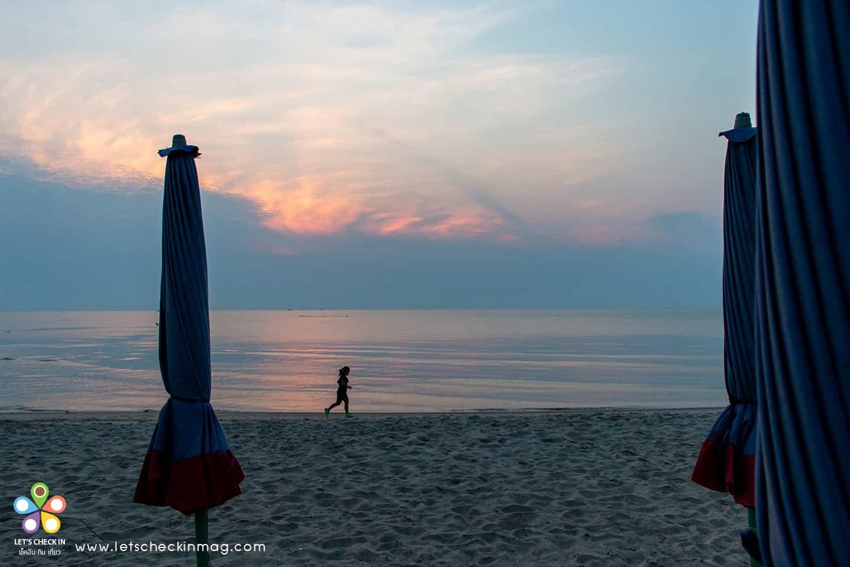 หาดชะอำ ตอนเช้า