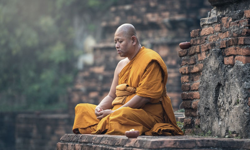 Intense meditation and spiritual evolution