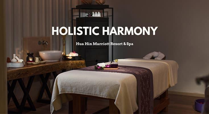 Holistic Harmony โปรแกรมสปาดีๆ ที่ Hua Hin Marriot Resort & Spa