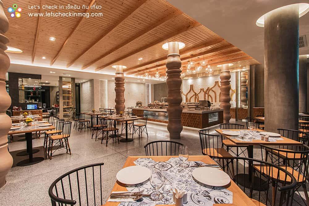 ห้องอาหารไอดิน โรงแรมราชาบุระ