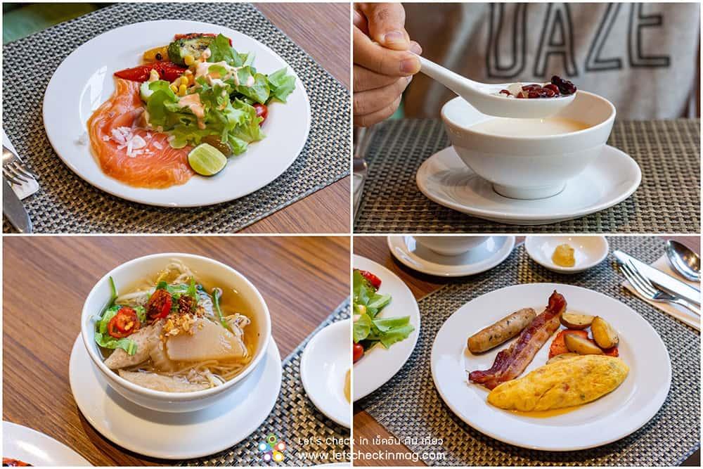 อาหารเช้า hyatt regency hua hin