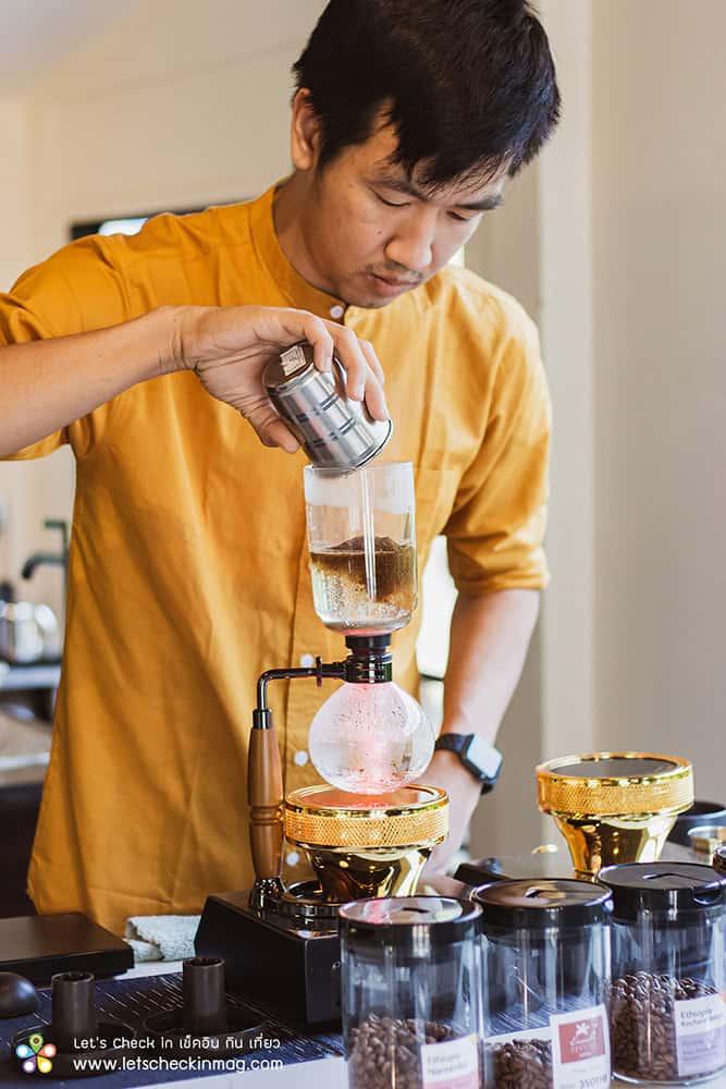 the peace coffee roaster mae klong