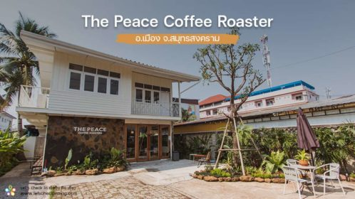 the peace coffee roaster แม่กลอง