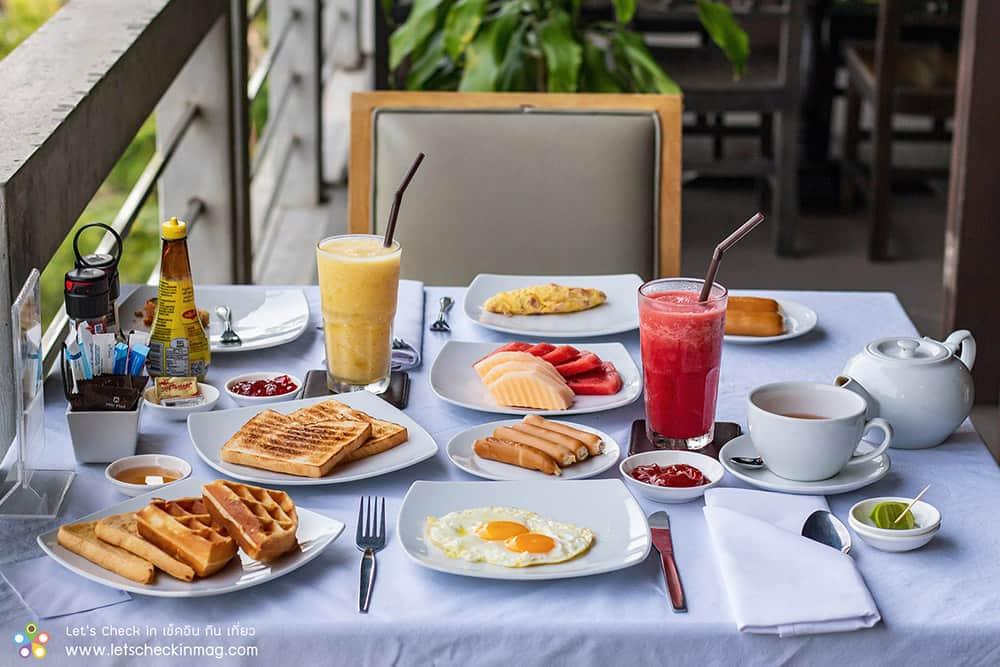 อาหารเช้า ซีวิว เกาะช้าง