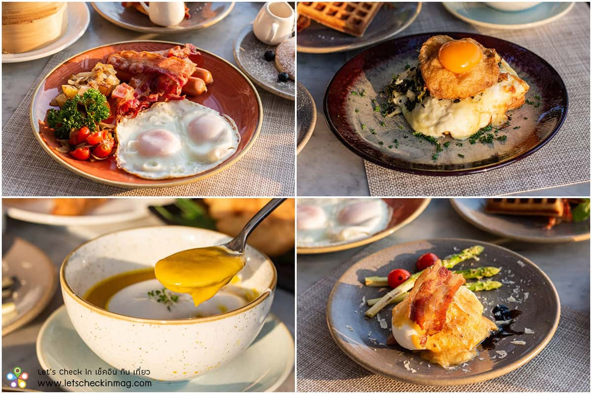 อาหารเช้า กุณดาลา หัวหิน