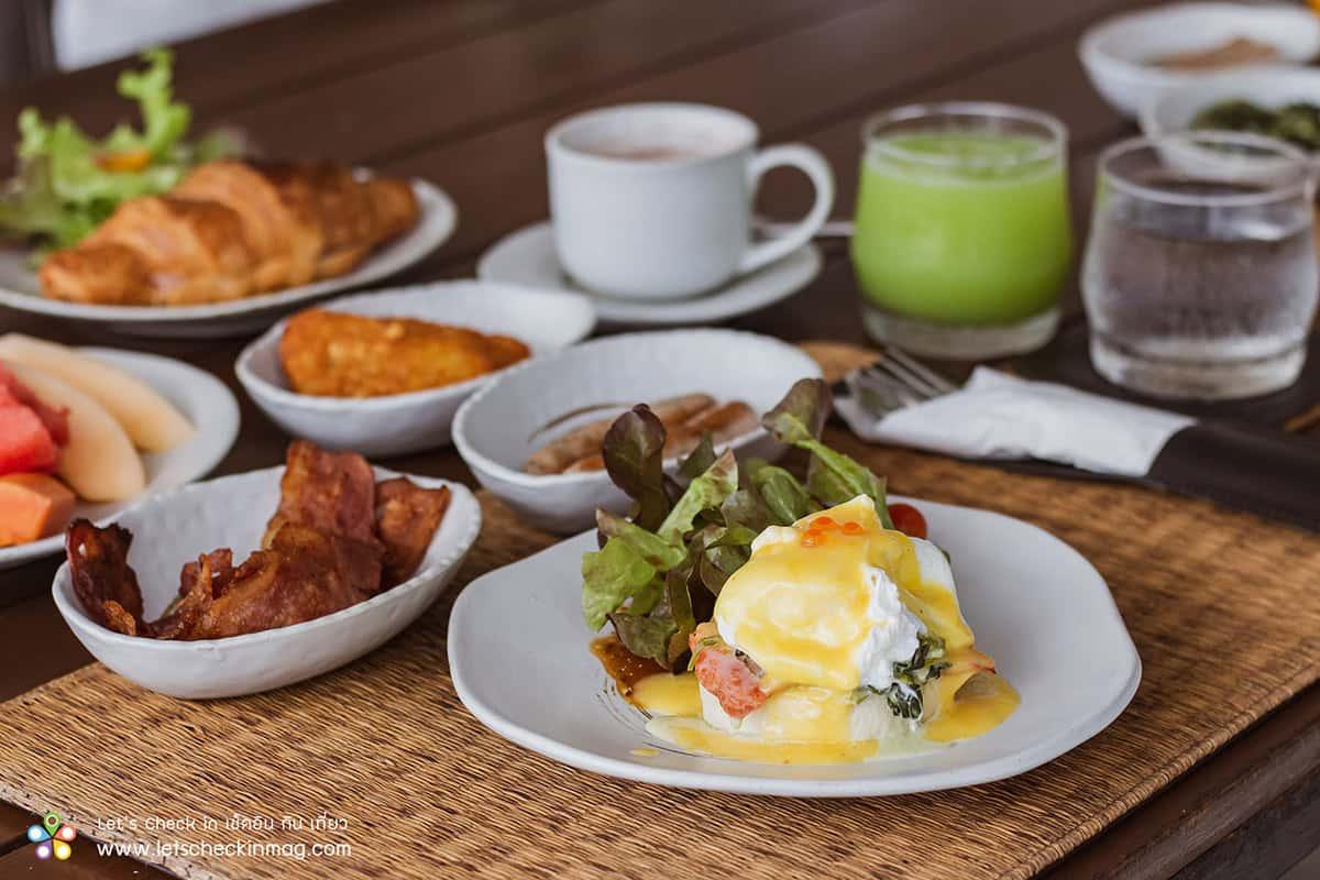 อาหารเช้า พุทธรักษา หัวหิน